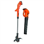 BLACK+DECKER BCK279D2 20V MAX Axial Leaf Blower and String Trimmer Combo Kit