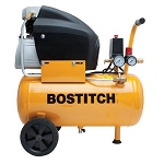 BOSTITCH BTFP02006 6-Gallon, 135 Max PSI, Horizontal Compressor