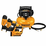 BOSTITCH BTFP3KIT 3-Tool/Compressor Combo Kit