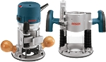 Bosch 1617EVSPK 2.25 HP Combination Plunge- and Fixed-Base Router