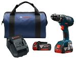 Bosch DDS181A-01 18V Compact Tough 1/2 In. Drill/Driver Kit