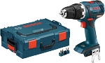 Bosch DDS182BL 18V EC Brushless Compact Tough 1/2 In. Drill/Driver Kit with L-Boxx Carrying Case