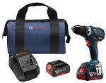 Bosch DDS183-01 18V EC Brushless Compact Tough 1/2 In. Drill/Driver Kit