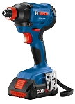 Bosch GDX18V-1600 18V 1/4 In. and 1/2 In. Two-In-One Bit/Socket Impact Driver