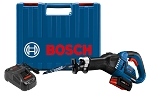 Bosch GSA18V-125K14 18 V EC Brushless Stroke Misfit Multi-Grip Reciprocating Saw Kit