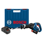 Bosch GSA18V-125K14A 18V EC Brushless Stroke Multi-Grip Reciprocating Saw Kit