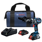 Bosch GSR18V-755CB25 18V EC Brushless Connected-Ready Brute Tough 1/2 In. Drill/Driver
