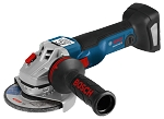 Bosch GWS18V-45CN 18 V EC Brushless Connected-Ready 4-1/2 In. Angle Grinder (Bare Tool)