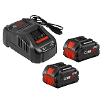 Bosch GXS18V-13N24 18V CORE18V Starter Kit with (2) CORE18V 8.0 Ah Performance Batteries