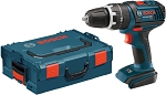 Bosch HDS181BL 18V Compact Tough 1/2 In. Hammer Drill/Driver with L-Boxx Carrying Case