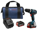 Bosch HDS183-01 18V EC Brushless Compact Tough 1/2 In. Hammer Drill/Driver Kit
