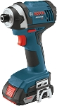 Bosch IDS181 18 V 1/4 In. Hex Compact Tough Impact Driver