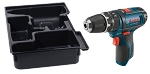 Bosch PS130BN 12V Max 3/8 In. Hammer Drill/Driver with Exact Fit Insert Tray