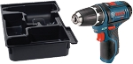 Bosch PS31BN 12V Max 3/8 In. Drill/Driver with Exact-Fit Insert Tray