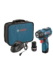 Bosch PS82-02 12V Max EC Brushless 3/8 In. Impact Wrench Kit