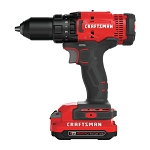 Craftsman CMCD700C1 V20* Cordless 1/2-in. Drill/Driver Kit (1 Battery)