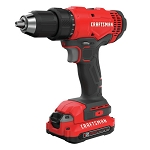 Craftsman CMCD701C2 V20* 1/2-in. Cordless Drill/Driver Kit (2 Batteries)