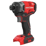 Craftsman CMCF820B V20* Cordless Brushless 1/4-in. Impact Driver (Tool Only)