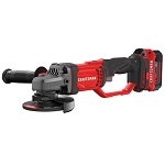 Craftsman CMCG400B V20* Cordless 4-1/2-in. Small Angle Grinder (Tool Only)