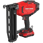 Craftsman CMCN616C1 V20* Cordless 16 Ga. Finish Nailer Kit (1 Battery)