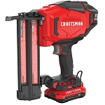 Craftsman CMCN618C1 V20* Cordless 18 Ga. Finish Nailer Kit (1 Battery)