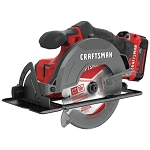 Craftsman CMCS500M1 V20* Cordless 6-1/2-in. Circular Saw Kit (1 Battery)