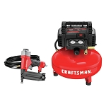 Craftsman CMEC1KIT18 Brad Nailer & Air Compressor Combo Kit