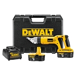 DEWALT DC490KA 18V CORDLESS 18 GAUGE SWIVEL HEAD AND SHEAR KIT