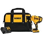 DEWALT DCN660D1 20V MAX* XR 16 GA ANGLED FINISH NAILER - KIT