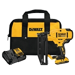 DEWALT DCN662D1 20V MAX* XR 16 GA CORDLESS STRAIGHT FINISH NAILER KIT