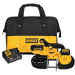 DEWALT  DCS371P1 20V MAX* LITHIUM ION BAND SAW KIT