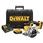 DEWALT DCS373P2 20V MAX* LITHIUM ION CIRCULAR SAW KIT
