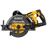 DEWALT DCS577B FLEXVOLT® 60V MAX* 7-1/4 IN. CORDLESS WORM DRIVE STYLE SAW (TOOL ONLY)