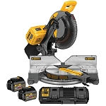 DEWALT DHS716T2 FLEXVOLT® 12 IN. (305 MM.) 120V MAX* DOUBLE BEVEL COMPOUND MITER SAW 2 BATTERY + FAST CHARGER KIT