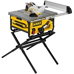 DEWALT DW745S 10 IN. COMPACT JOBSITE TABLE SAW WITH STAND