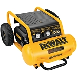Dewalt D55146 1.6 HP CONTINUOUS, 225 PSI, 4.5 GALLON COMPRESSOR