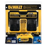 Dewalt DCB102BPBT Bluetooth Battery and Jobsite Charging Station Combo Kit