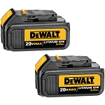 Dewalt DCB200-2 20V MAX* Lithium Ion Battery 2 Pack