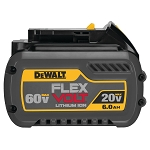 Dewalt DCB606 20V/60V MAX* FLEXVOLT 6.0 Ah BATTERY