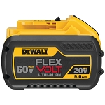 Dewalt DCB609 20V/60V MAX* FLEXVOLT 9.0Ah BATTERY