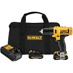 Dewalt DCD710S2 12V MAX* 3/8 IN. DRILL DRIVER KIT