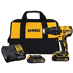 Dewalt DCD778C2 20V MAX* BRUSHLESS 1/2 IN. COMPACT CORDLESS HAMMER DRILL/DRIVER KIT