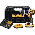 Dewalt DCD796D2 20V MAX* XR LITHIUM ION BRUSHLESS COMPACT HAMMERDRILL KIT