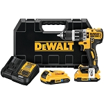 Dewalt DCD796D2BT 20V MAX* XR LI-ION BRUSHLESS COMPACT HAMMERDRILL WITH BLUETOOTH BATTERY PACKS
