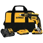 Dewalt DCF620D2 20V MAX* XR® Drywall Screwgun Kit (2.0Ah)