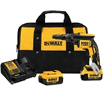 Dewalt DCF622M2 20V MAX* XR® VERSA-CLUTCH™ ADJUSTABLE TORQUE SCREWGUN KIT