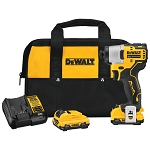 Dewalt DCF801F2 XTREME™ 12V MAX* BRUSHLESS 1/4 IN. CORDLESS IMPACT DRIVER KIT