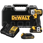 Dewalt DCF895C2 20V MAX* LITHIUM ION BRUSHLESS 3-SPEED 1/4