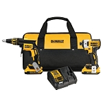 Dewalt DCK267D2 20V MAX* CORDLESS BRUSHLESS XR® DRYWALL SCREWGUN & IMPACT DRIVER KIT (2.0AH)