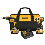 Dewalt DCK267M2 20V MAX* CORDLESS BRUSHLESS XR® DRYWALL SCREWGUN & IMPACT DRIVER KIT (4.0AH)